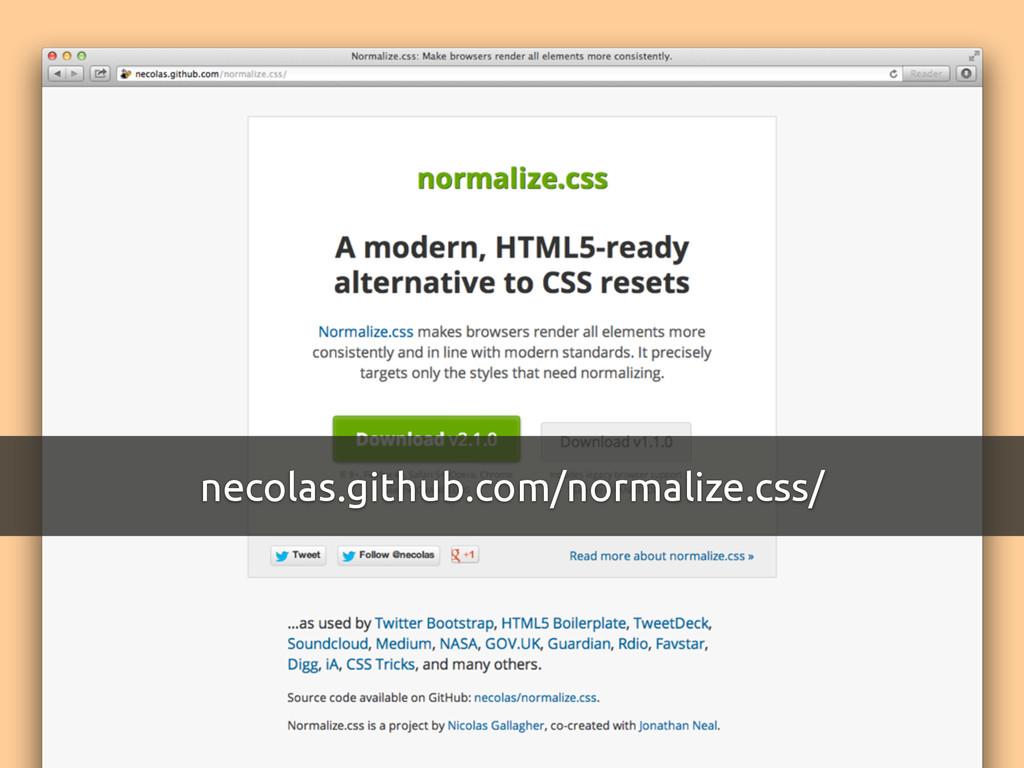 necolas.github.com/normalize.css/