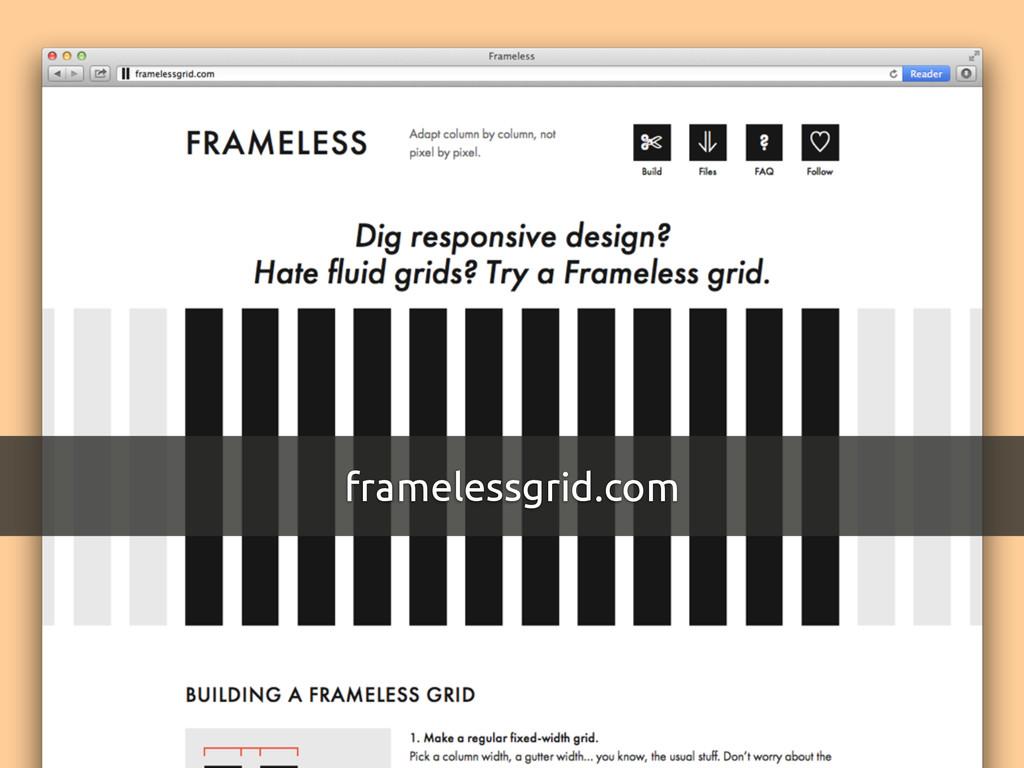 framelessgrid.com