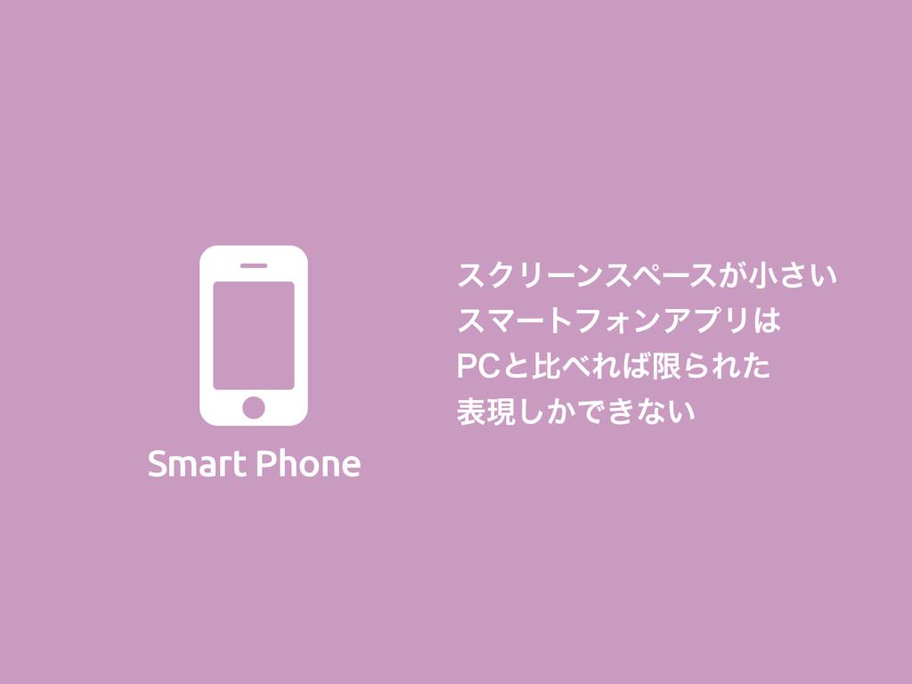 Smart Phone  εΫϦʔϯεϖʔε͕খ͍͞ εϚʔτϑΥϯΞϓϦ 1$ͱൺΕ...