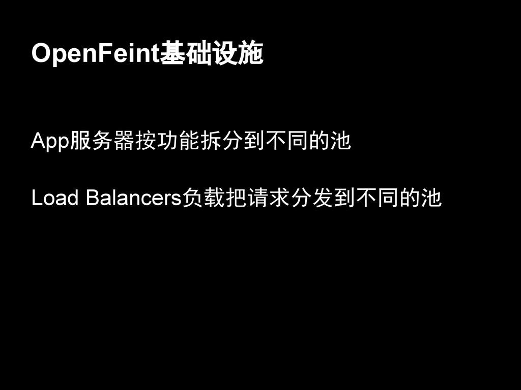 fetch_friend_status OpenFeint基础设施 App服务器按功能拆分到不...