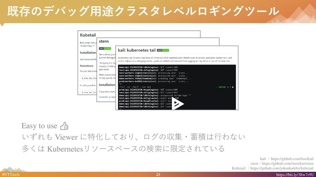 23 #NTTtech https://bit.ly/38w7r9U 既存のデバッグ用途クラス...