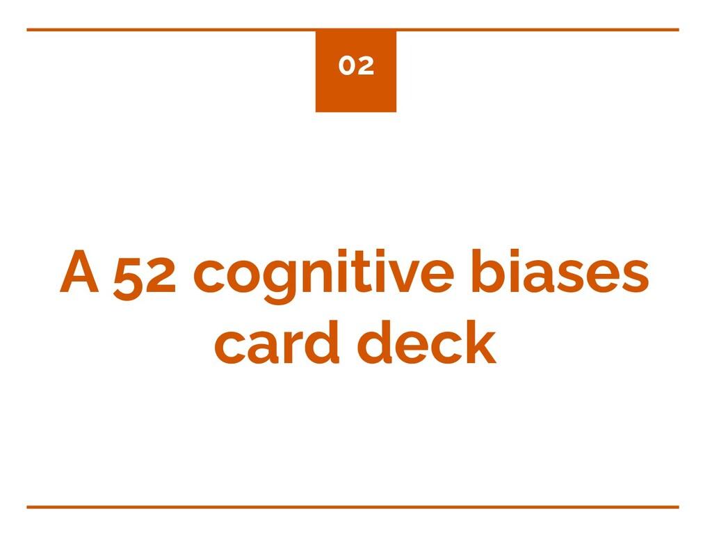 A 52 cognitive biases card deck 02