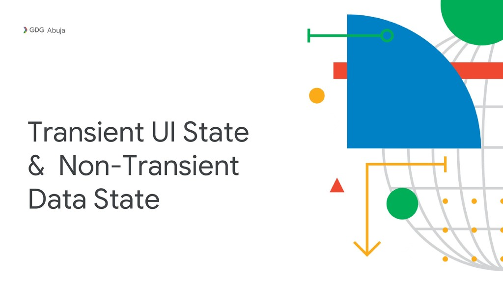 Transient UI State & Non-Transient Data State A...