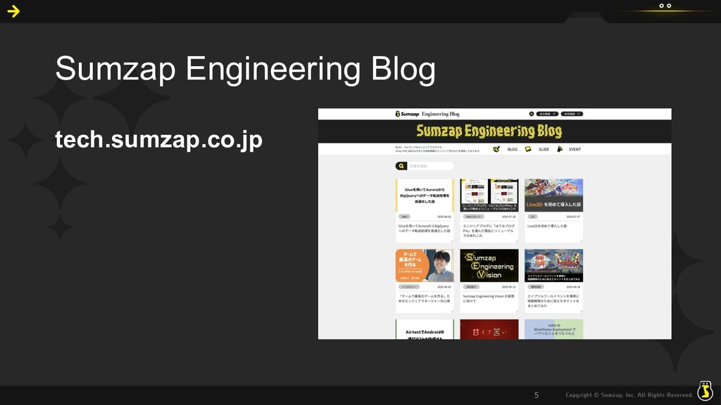 Sumzap Engineering Blog tech.sumzap.co.jp 5