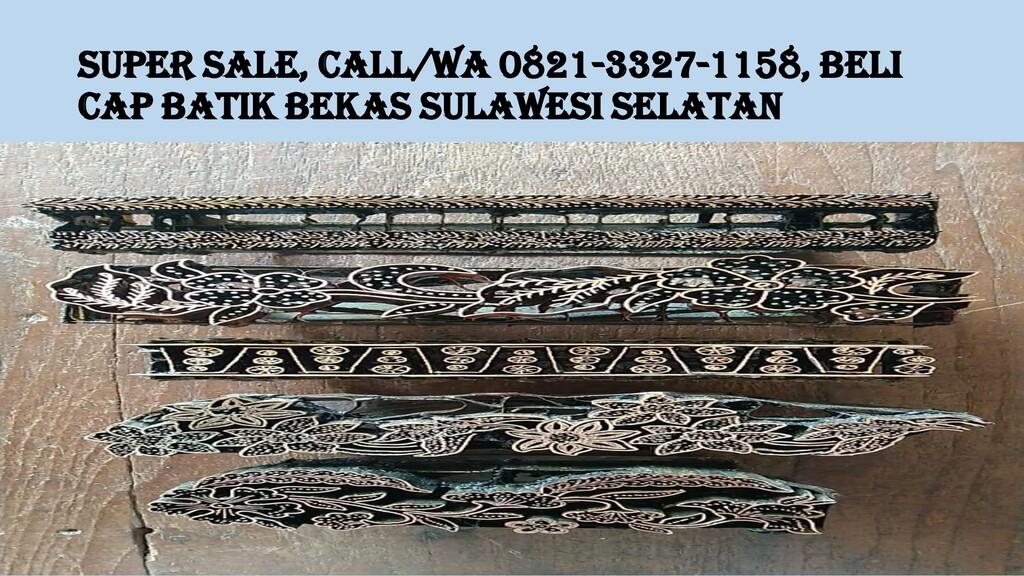 SUPER SALE, Call/WA 0821-3327-1158, Beli Cap Ba...