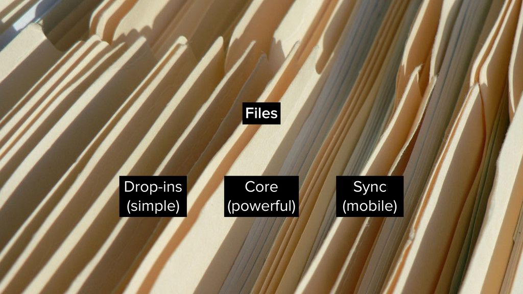 Files Drop-ins