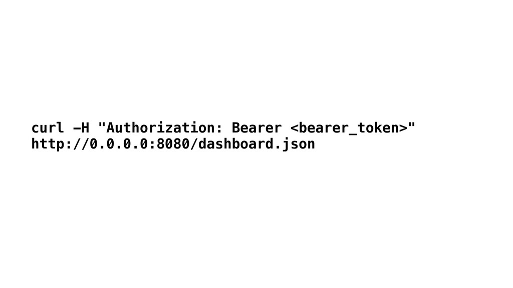 "curl -H ""Authorization: Bearer <bearer_token>"" ..."