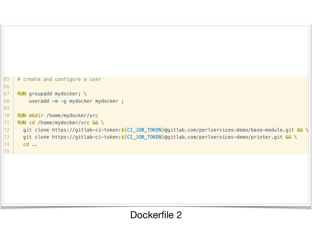 Dockerfile 2