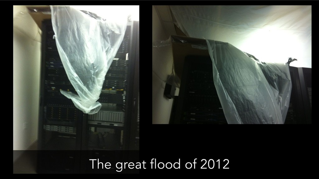 The great flood of 2012