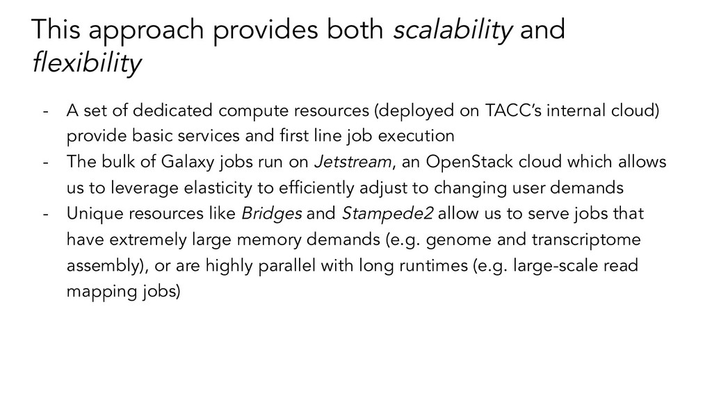 This approach provides both scalability and flex...