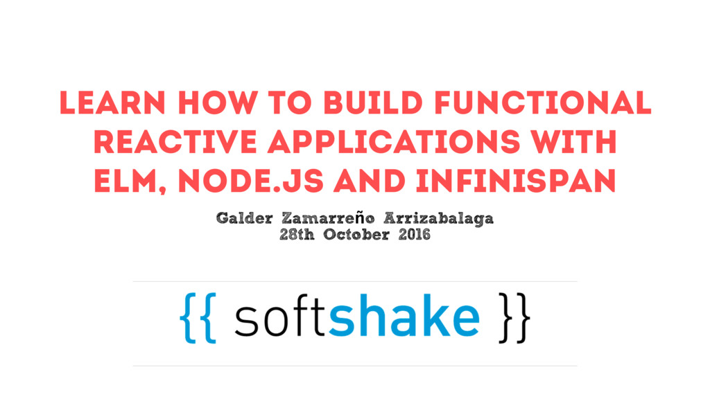 Learn how to build Functional Reactive Applicat...