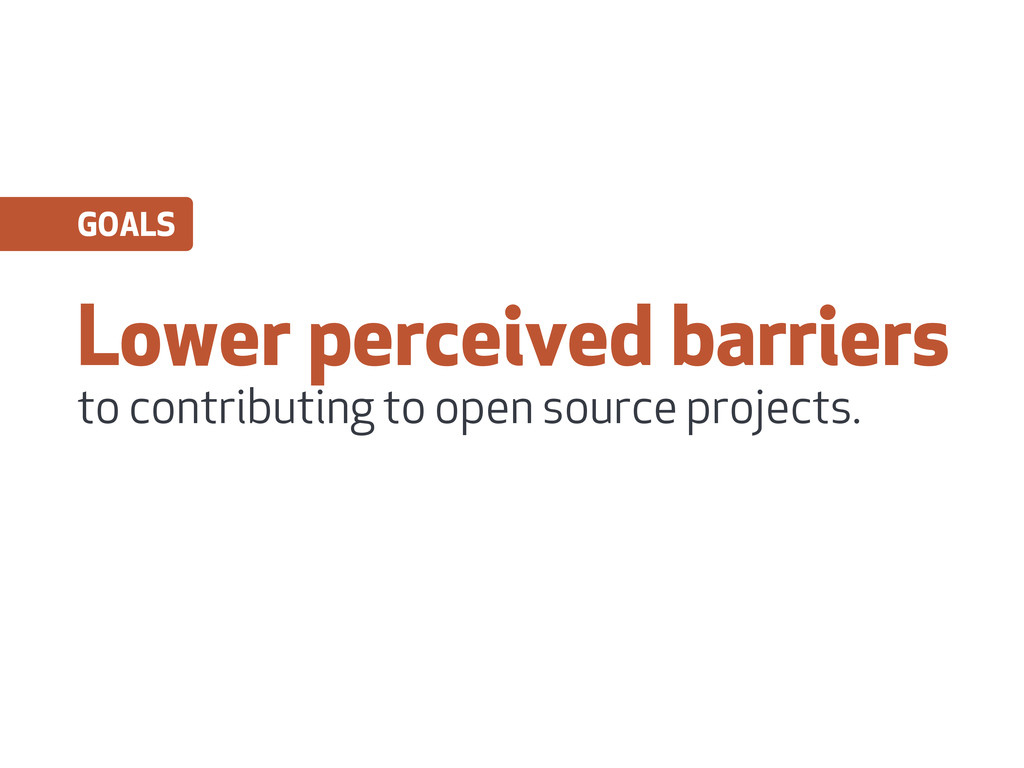 Lower perceived barriers to contributing to ope...
