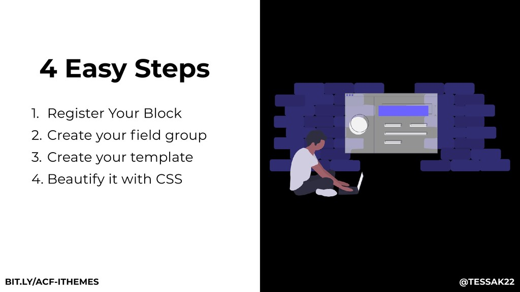 4 Easy Steps 1. Register Your Block 2. Create y...
