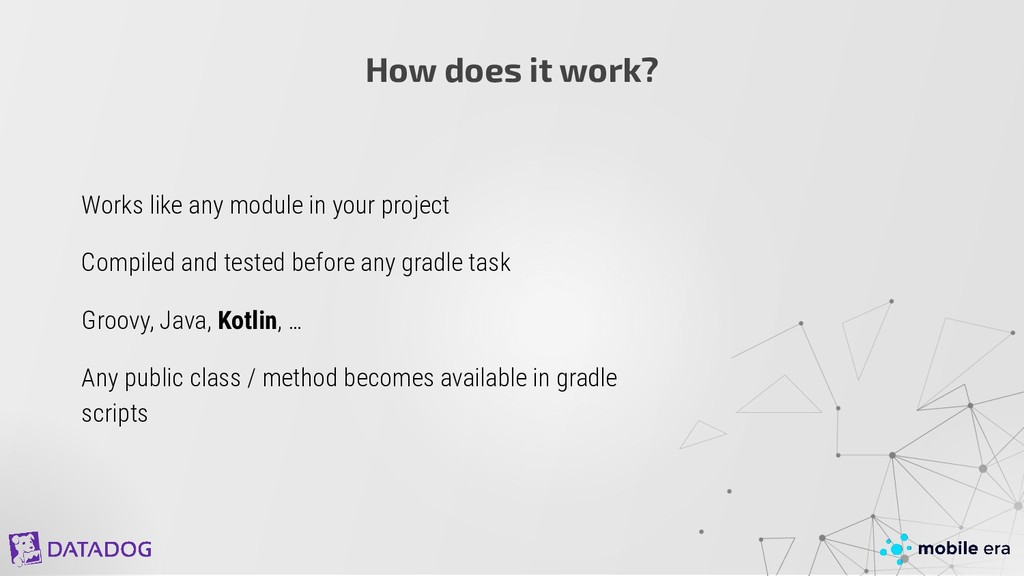 Works like any module in your project Compiled ...