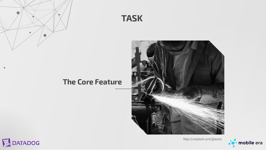 TASK The Core Feature https://unsplash.com/@wan...