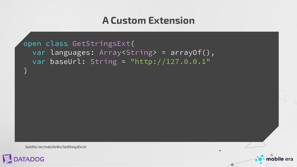 A Custom Extension open class GetStringsExt( va...