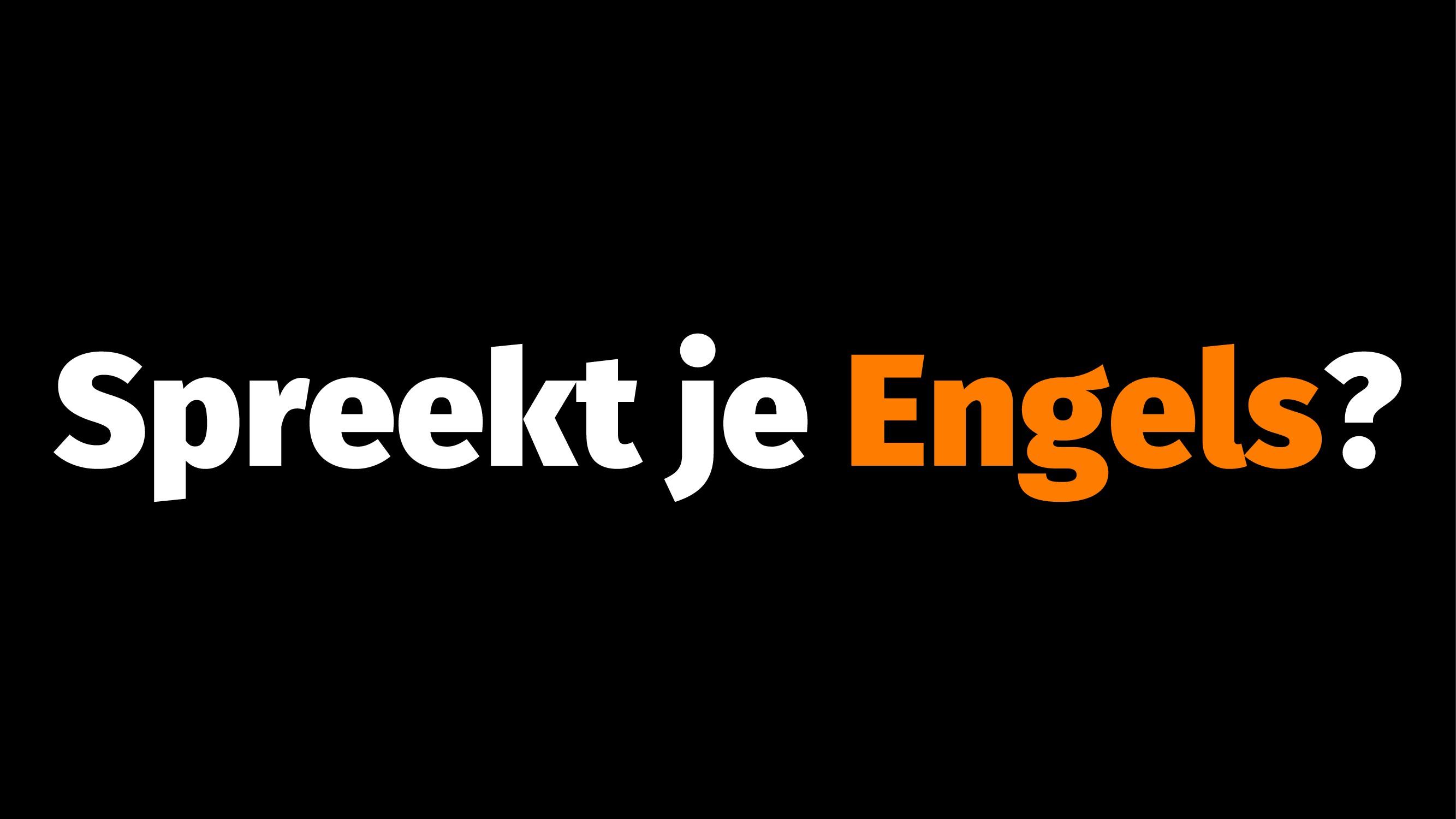 Spreekt je Engels?
