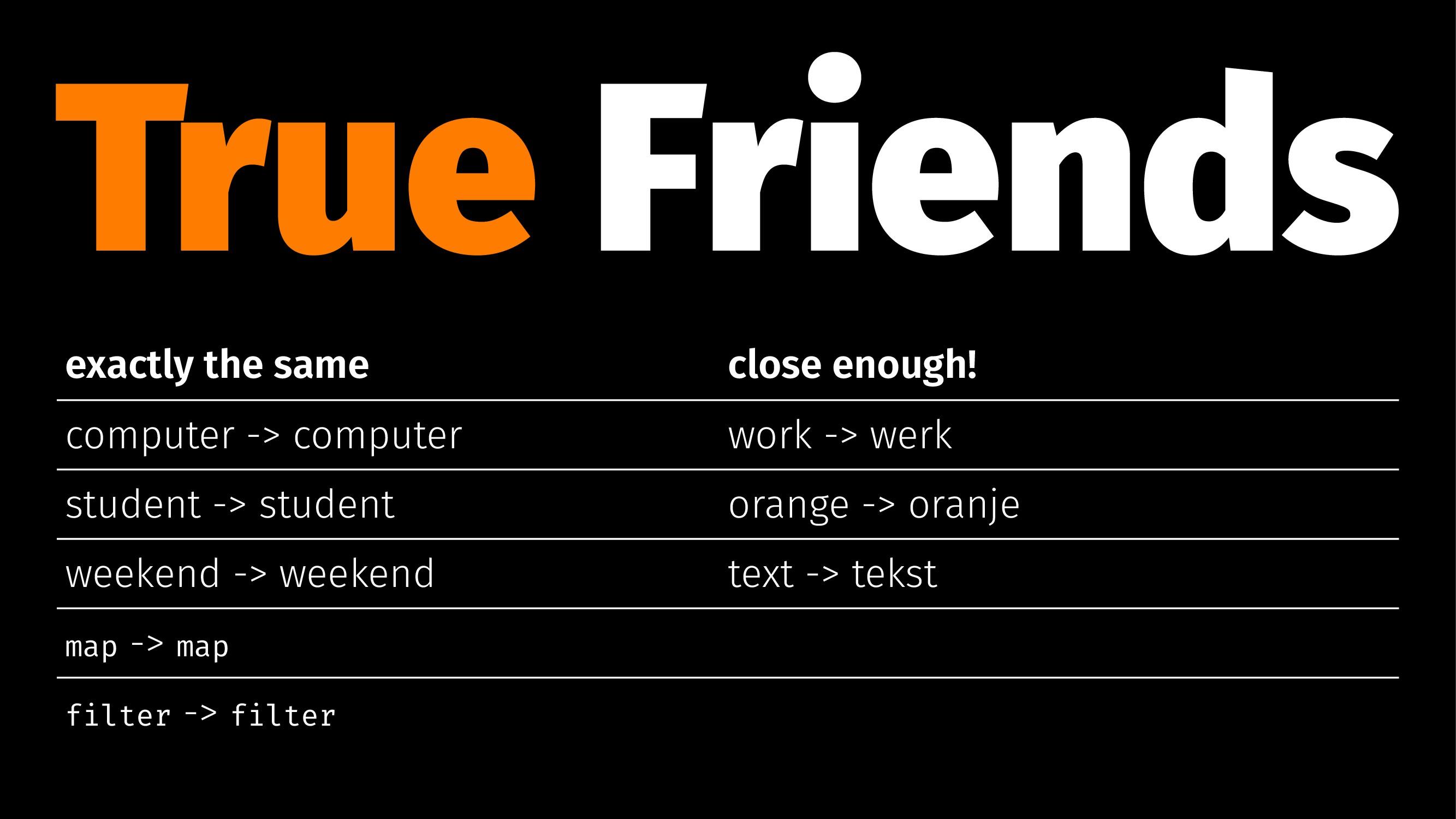 True Friends exactly the same close enough! com...