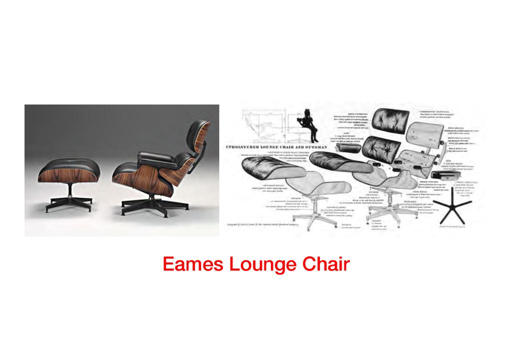 Eames Lounge Chair!