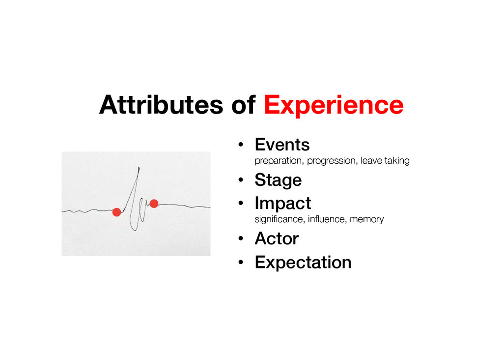 • Events  preparation, progression, leave tak...