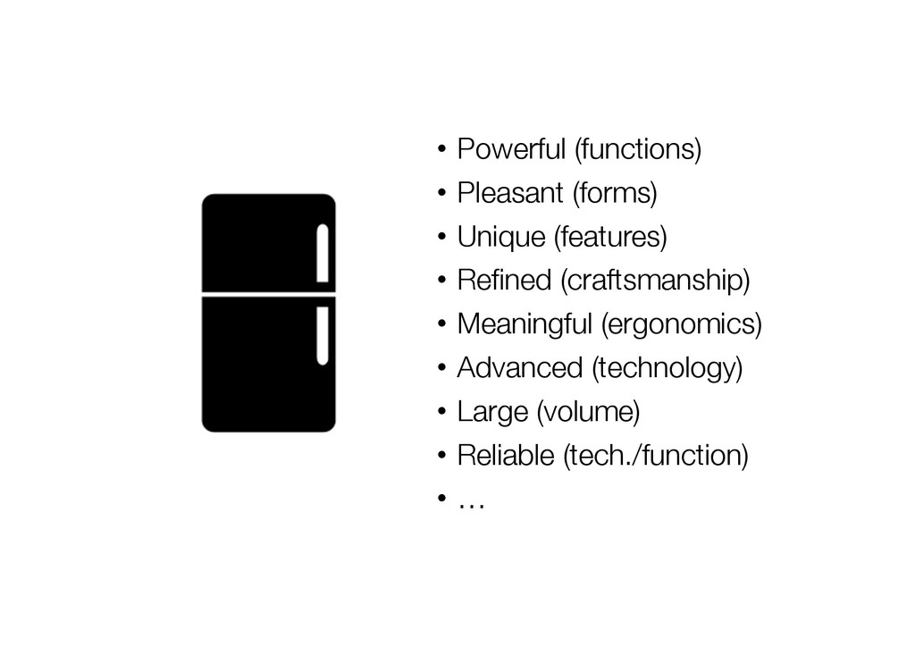 • Powerful (functions) • Pleasant (forms) •...