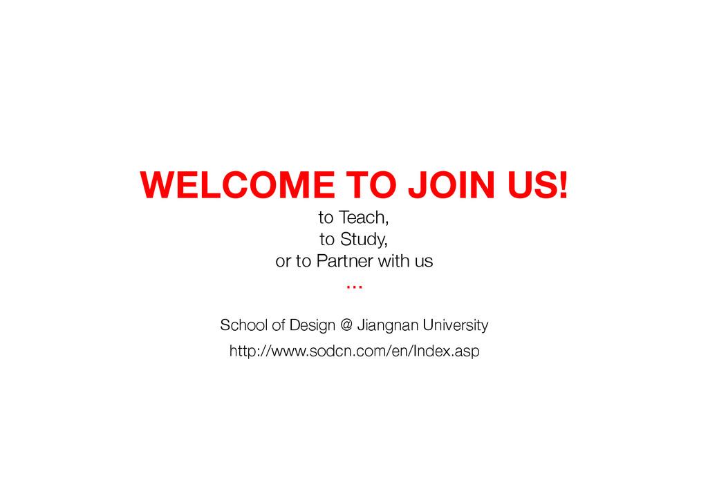 School of Design @ Jiangnan University http://...
