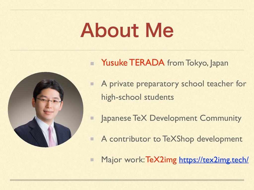 """CPVU.F Yusuke TERADA from Tokyo, Japan A priv..."