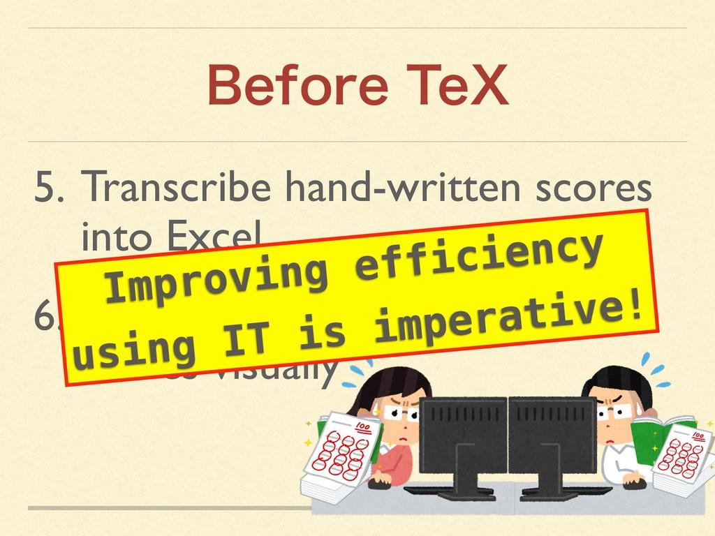 #FGPSF5F9 5. Transcribe hand-written scores in...