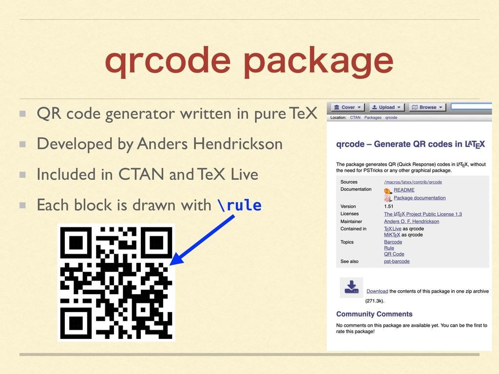 RSDPEFQBDLBHF QR code generator written in pur...