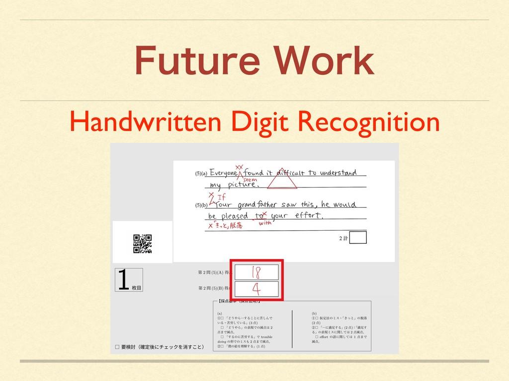 'VUVSF8PSL Handwritten Digit Recognition