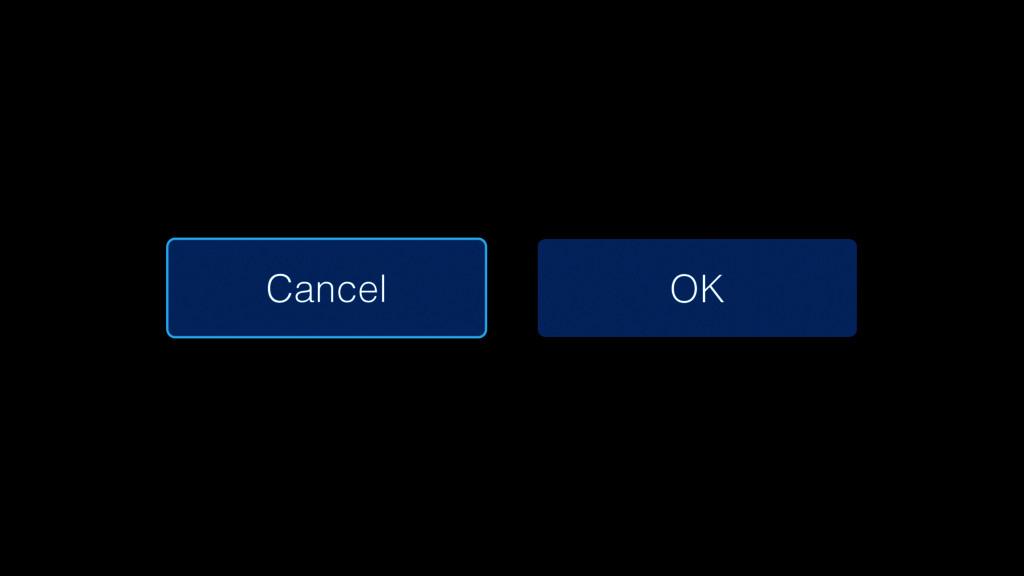 Cancel OK