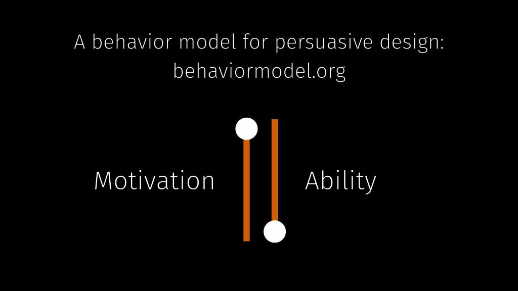 A behavior model for persuasive design: behavio...