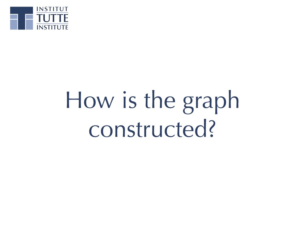 How is the graph constructed?