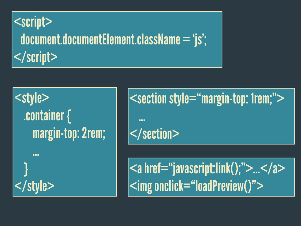 <style> .container { margin-top: 2rem; … } </st...