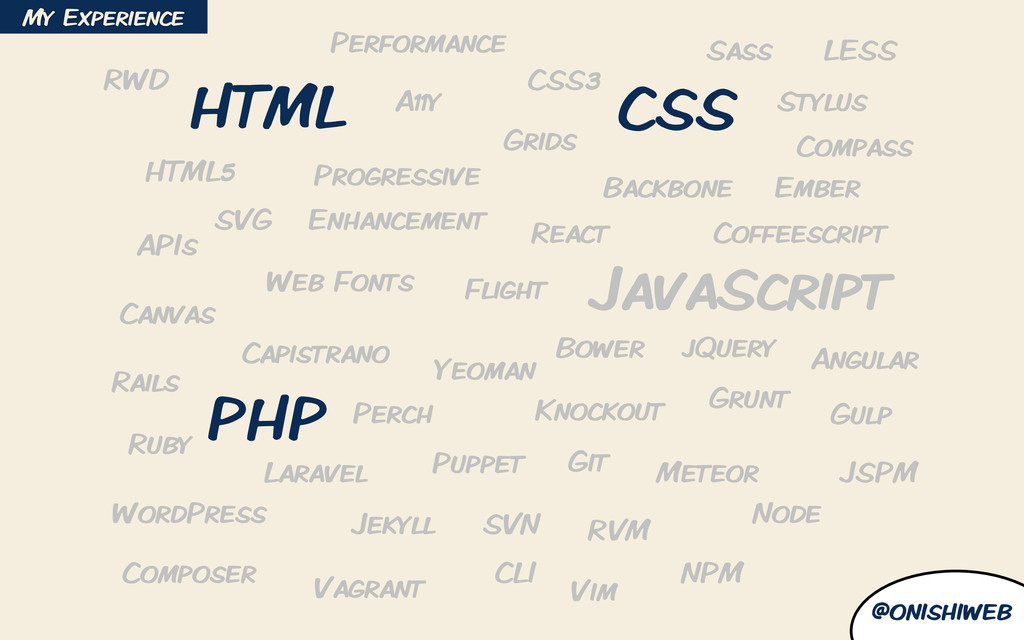 @onishiweb HTML CSS HTML5 CSS3 JavaScript jQuer...