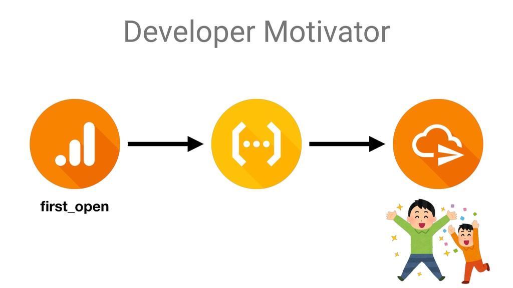 Developer Motivator first_open