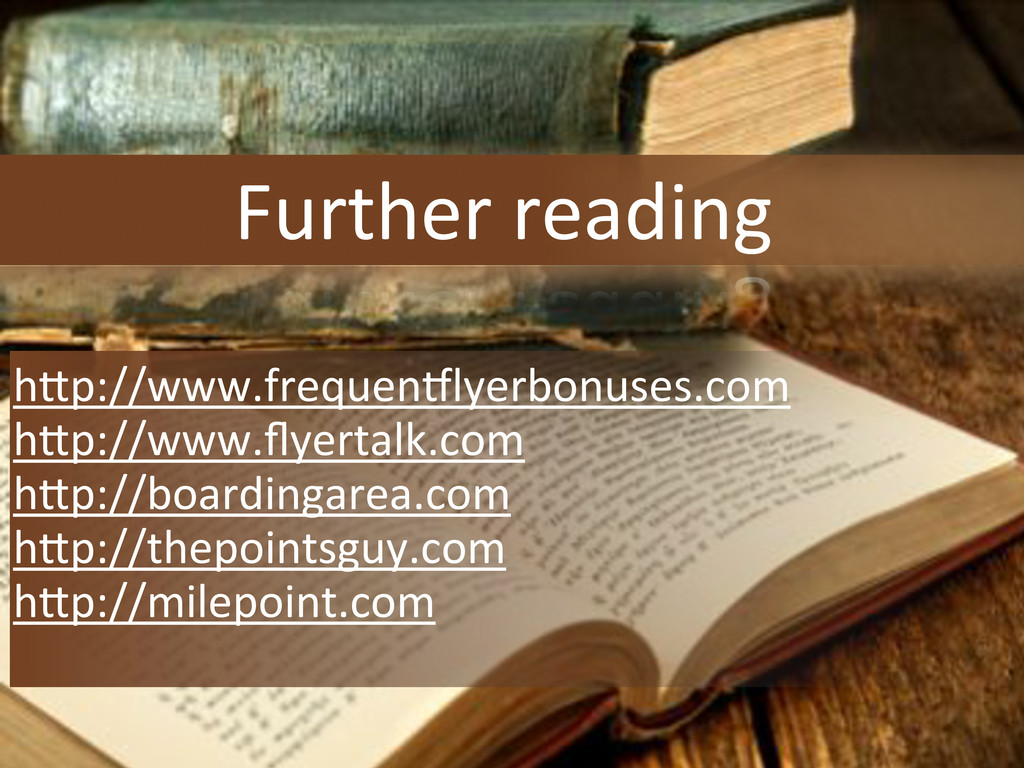 Further'reading hXp://www.frequen[lyerbonuses.c...
