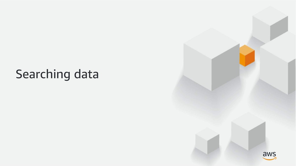 Searching data