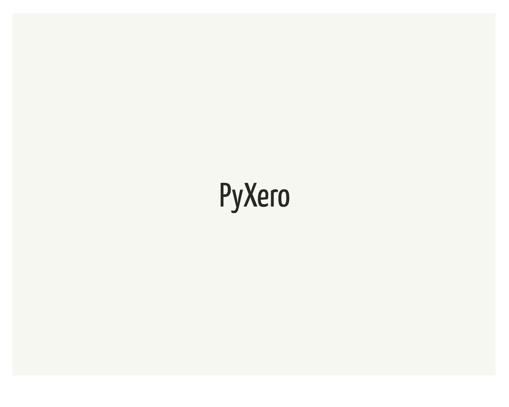 PyXero
