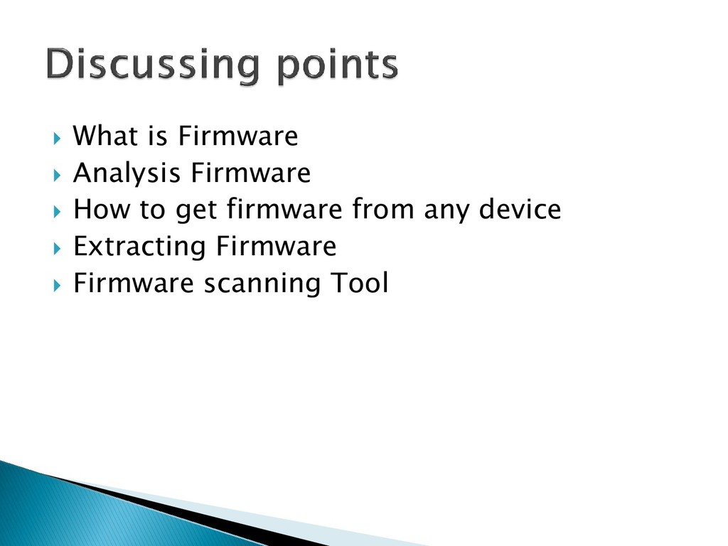 What is Firmware  Analysis Firmware  How to...