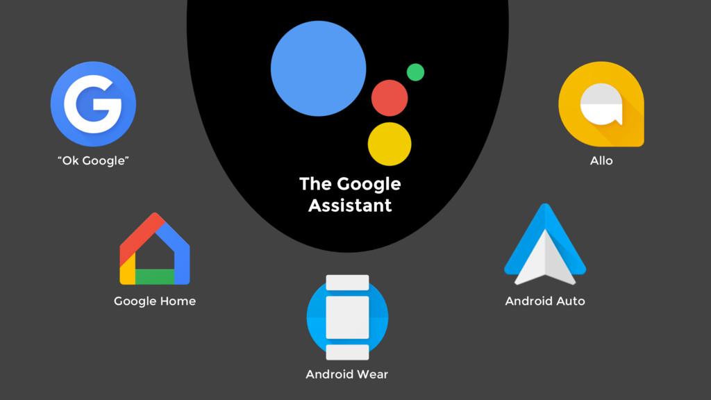 "The Google Assistant ""Ok Google"" Allo Google Ho..."