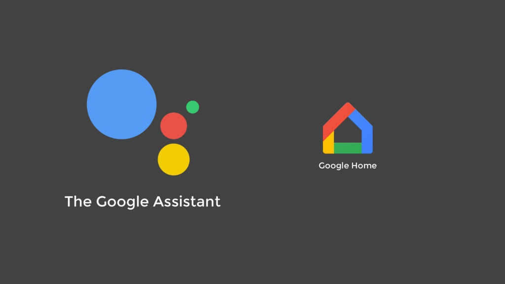 The Google Assistant Google Home