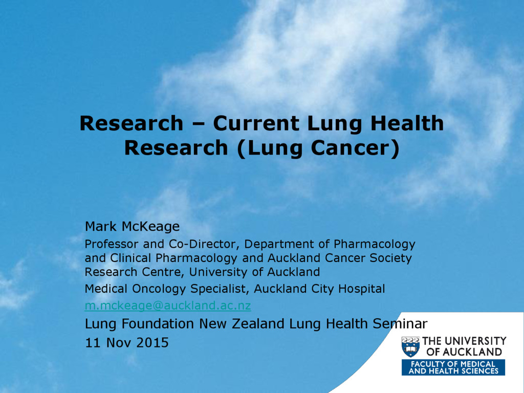 Research – Current Lung Health Research (Lung C...