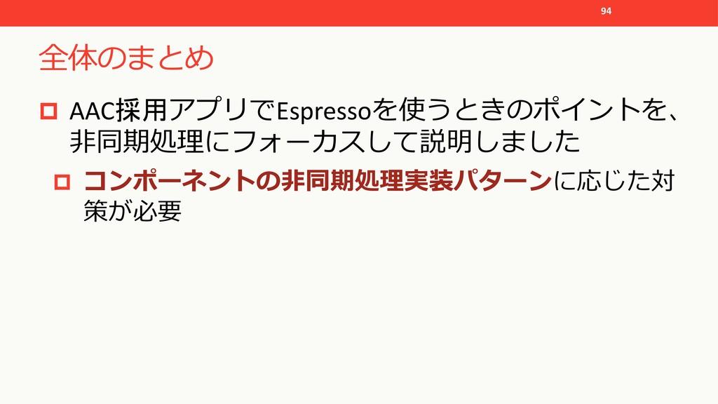 "! 94 p AAC Espresso% *""( ..."