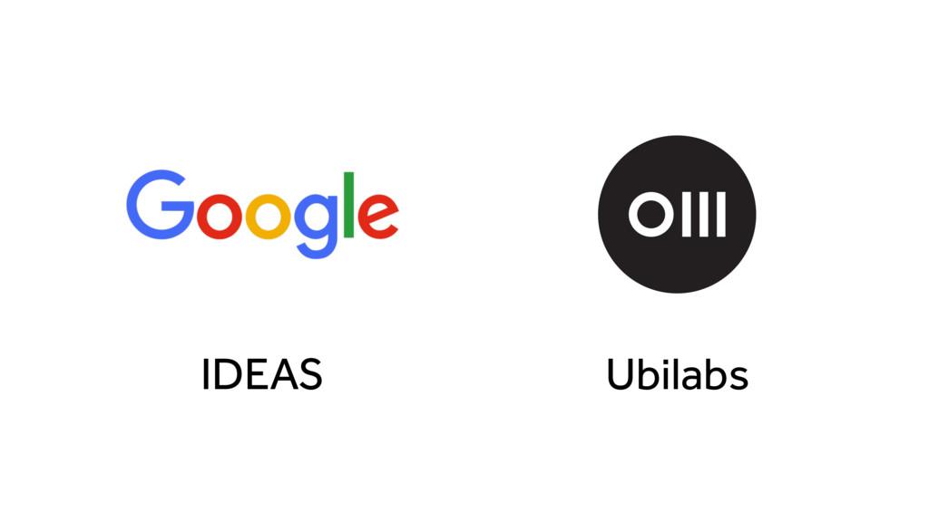 Ubilabs IDEAS