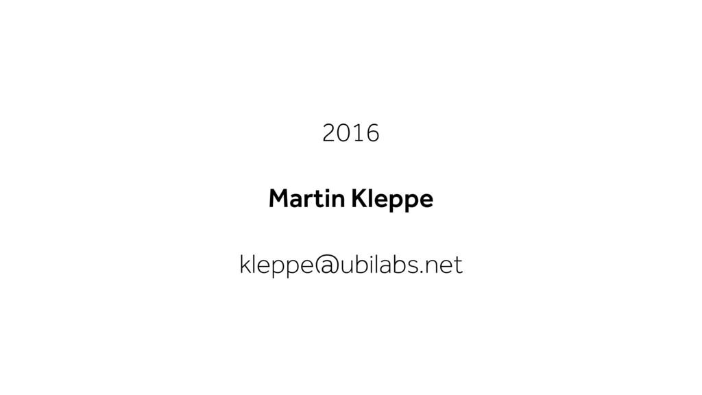 2016 Martin Kleppe kleppe@ubilabs.net