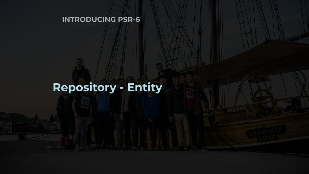 INTRODUCING PSR-6 Repository - Entity