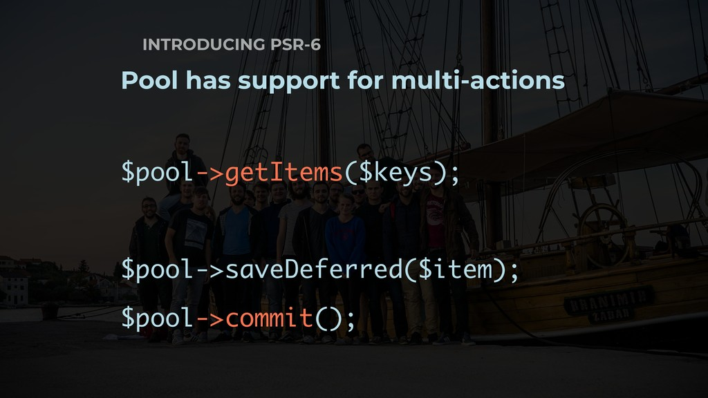 INTRODUCING PSR-6 Pool has support for multi-ac...