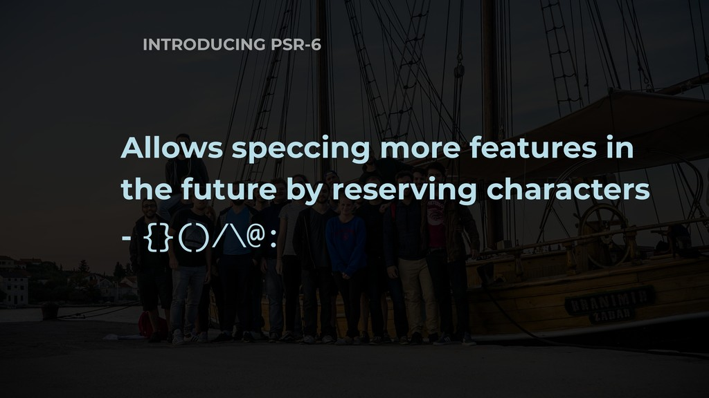INTRODUCING PSR-6 Allows speccing more features...