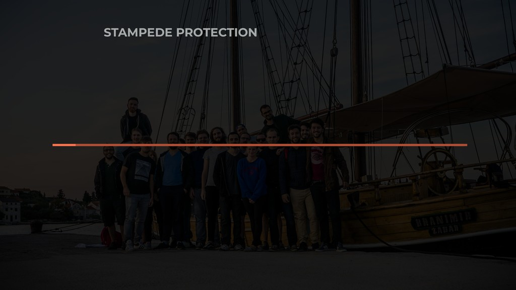 STAMPEDE PROTECTION